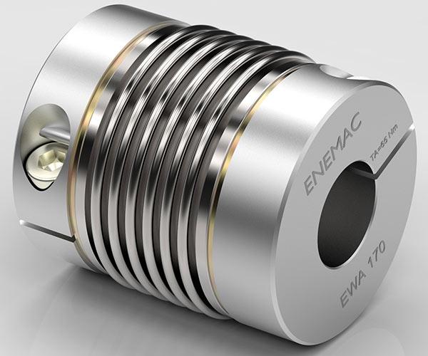 Enemac maschinentechnik metal bellows couplings